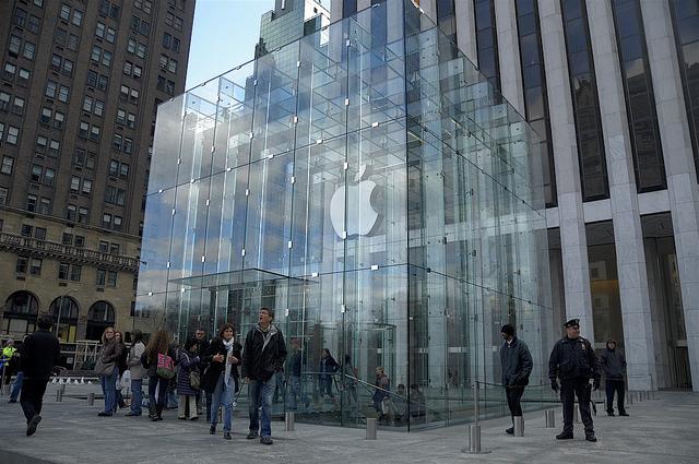 apple store expérience client