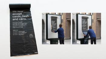 Day 361 : McDonald's fait payer ses clients en canettes vides. Stockholm.