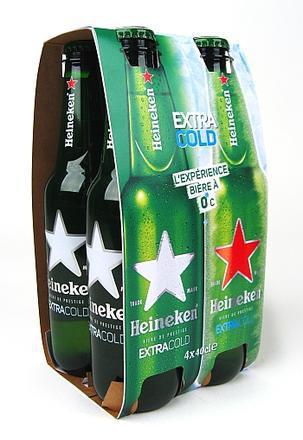 Day 360 : une bouteille qui signale le moment où la bière est à la température idéale.