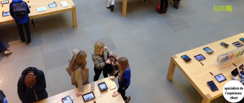 L'expérience Apple Store