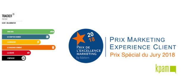 KPAM remporte le Prix Adetem Expérience Client 2018 avec le Tracker Miroir