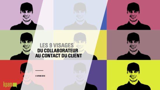 Les 9 visages du collaborateur au contact du client