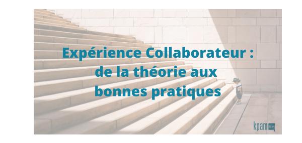 """Webinaire : """"Expérience Collaborateur : de la théorie aux bonnes pratiques !"""""""